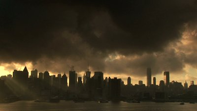 stock-footage-a-steamy-morning-looking-over-the-new-york-city-skyline-dark-and-moody-with-fast-moving-clouds